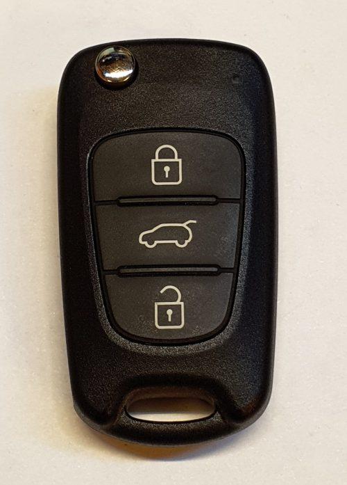 Ключ для Hyundai i30 2007-2011, PCF7936, 433 Mhz