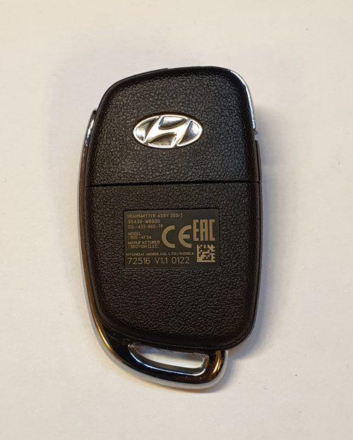 Ключ для Hyundai Creta с 2016 года