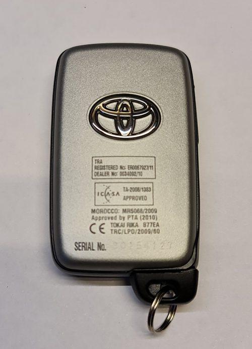 Ключ для Toyota Land Cruiser 200 2010-2015